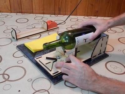 Como cortar botellas de Vidrio? Intro mas Explicación paso a paso.