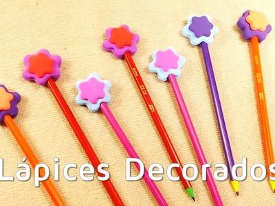 Cómo decorar lápices con goma eva moldeable | facilisimo.com