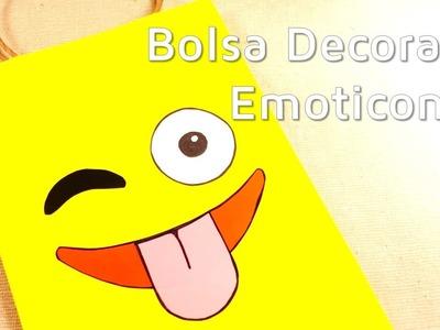 Cómo decorar una bolsa de regalo con emoticones | facilisimo.com