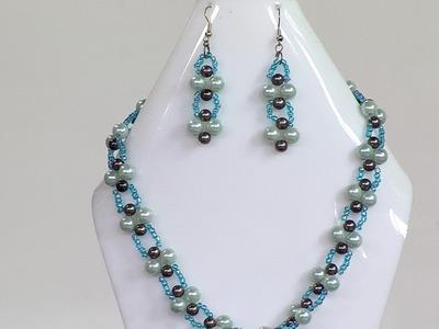 Cómo Hacer un Collar para Mujer en Perlas con Mostacilla - Hogar Tv  por Juan Gonzalo Angel