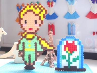 Cómo hacer un Principito de Hama beads - Le Petit Prince