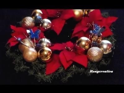 Cómo hacer una CORONA NAVIDEÑA + Los colores para atraer amor, salud y abundancia en la Navidad