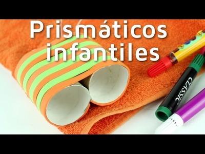 Cómo hacer unos prismáticos infantiles reciclando | facilisimo.com
