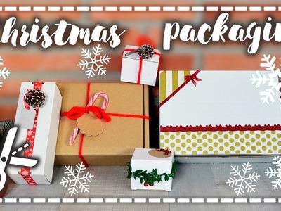 Decora tus regalos - Christmas Packaging