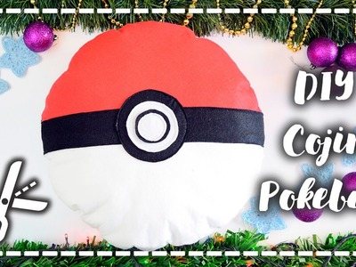 DIY Cojín Pokeball - Pokeball pillow