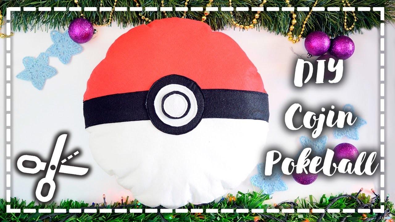 DIY Cojín Pokeball - Pokeball pillow