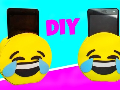 DIY SOPORTE CARGADOR PARA MÓVIL de Emoji