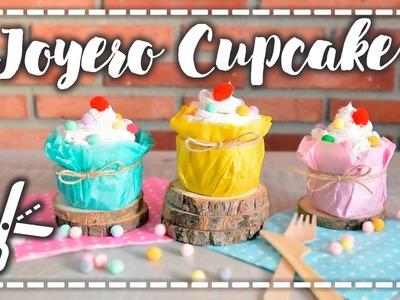 Ideas de San Valentín - DIY y Receta sin horno - Joyero Cupcake