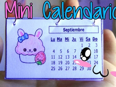 Ideas para organizarte! Haz un mini calendario fácil! - Easy mini calendar!
