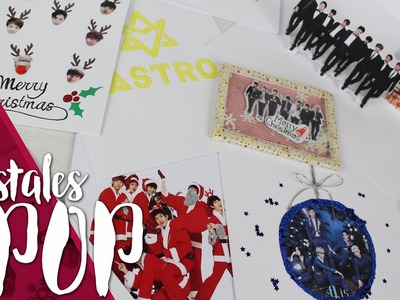 KPOP DIY: 5 IDEAS PARA POSTALES |K-freak| BTS, Block B, Super Junior, Astro, Nu'est, Infinite