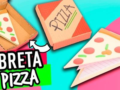 Libreta Casera de Cartón ¡Con forma de Pizza! DIY | Haz tus propias Libretas - Manualidades Catwalk
