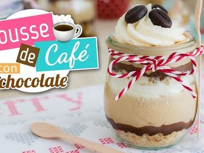Mousse de café con chocolate | Postre sin horno | Quiero Cupcakes!
