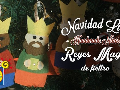 Reyes Magos De Fieltro - Handmade Niños