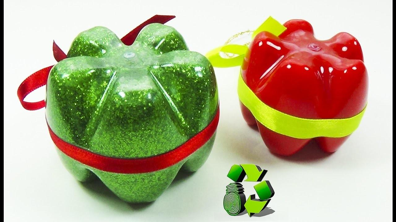 Adornos navide os con botellas pl sticas pet ecobrisa diy for Adornos navidenos hechos con botellas plasticas
