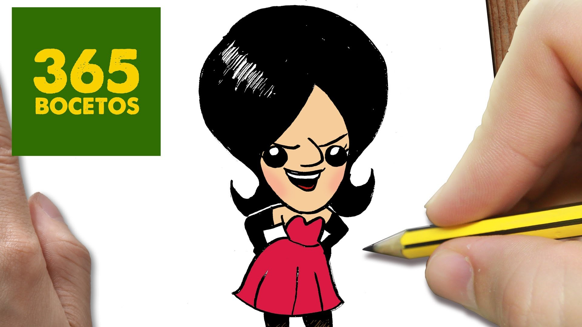 Como Dibujar Scarlet De Los Minions Kawaii Paso A Paso Dibujos