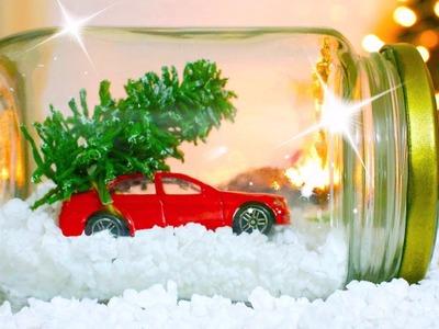 HAZ UN GLOBO DE NIEVE | DIY Regalos de Navidad