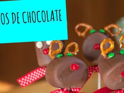 Renos de Chocolate y Marshmallow - La Cooquette - Navidad