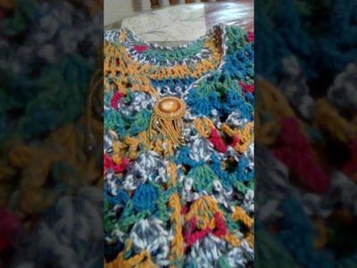 Chalecos en crochet Laura Cepeda