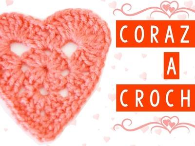 COMO HACER UN CORAZON A CROCHET FACIL | Danii's Ways ♡