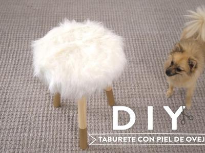 Diseña un taburete confortable y fabuloso para invierno | DIY Westwing