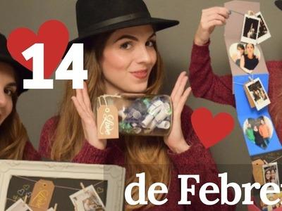 DIY 3 Ideas de Regalos para el Día del Amor y la Amistad|San Valentín|14 de Febrero2017|Yendypindipi