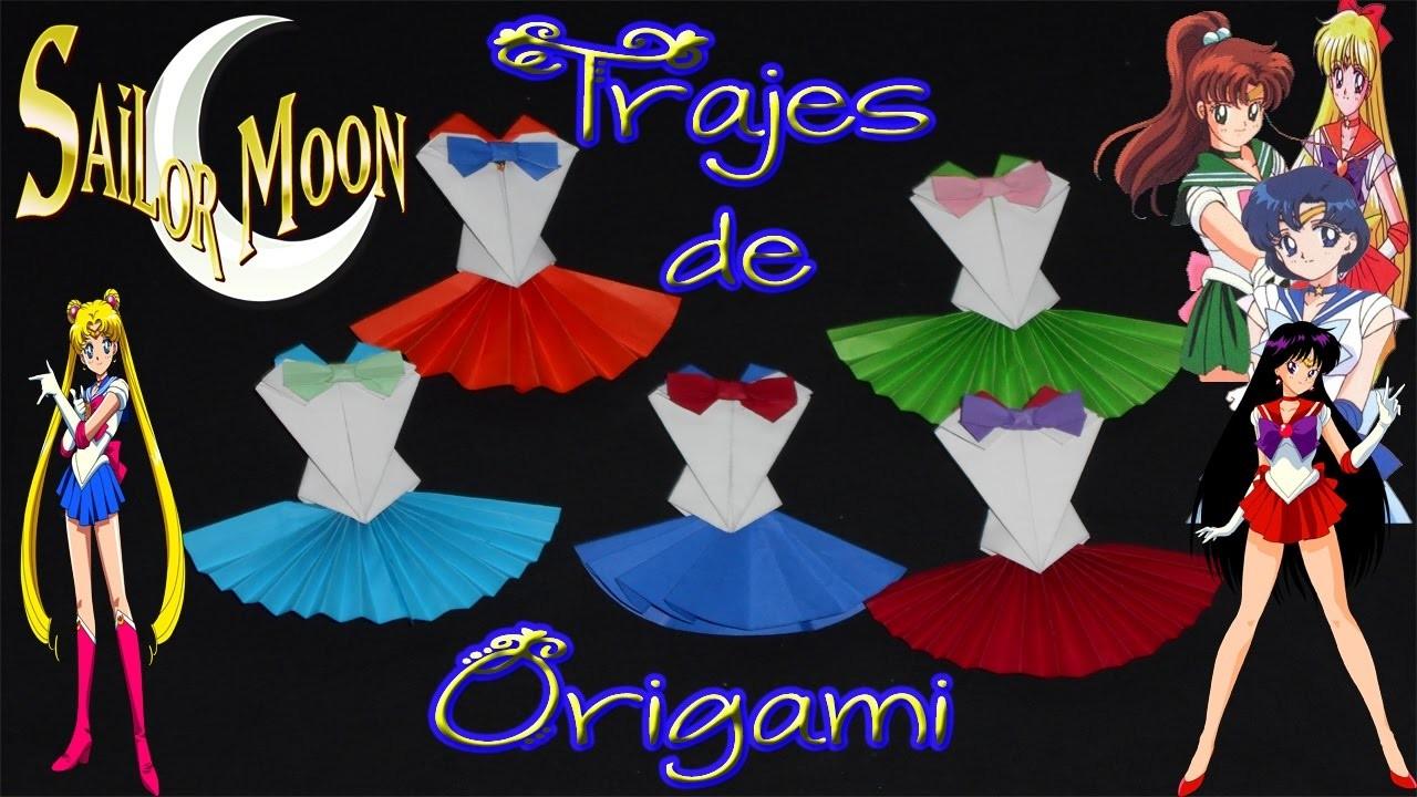 #DIY Anime Serie Especial #SailorMoon #1: Trajes de Origami de las Sailor Scouts