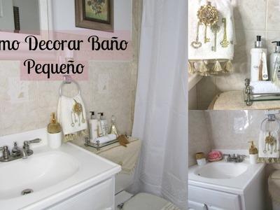 DIY | Como Decorar El Baño | Estilo Sorangel