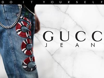DIY Gucci Jeans - David Tasco