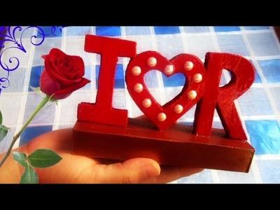 IDEAS PARA REGALAR EN SANVALENTÍN.DIY Valentine's Day Gift Idea
