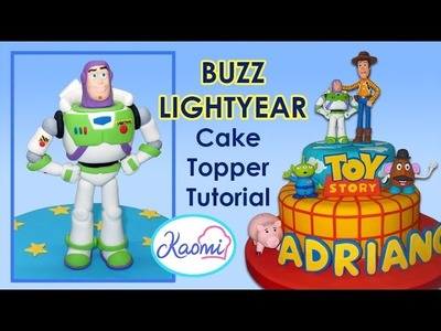 Toy Story (Cake Topper): Buzz Lightyear. Cómo hacer a Buzz para tortas