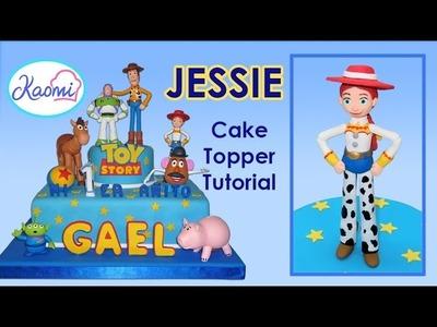 Toy story (Cake Topper): Jessie. Cómo hacer a Jessie para tortas