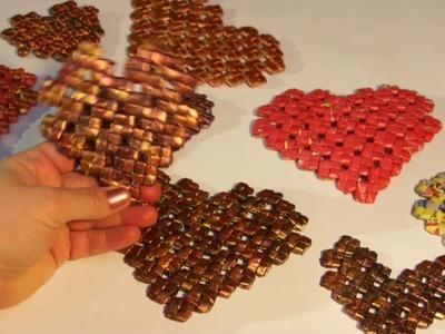 """Corazón en el estilo de """"Pixel Art"""" (dibujo """"cruz de China"""")"""