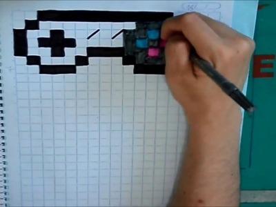 Desenhando o controle do Super Nintendo - Pixel Art