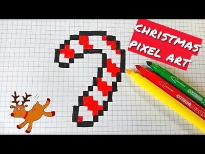 Handmade Pixel-Art - NAVIDAD- CHRISTMAS PIXEL