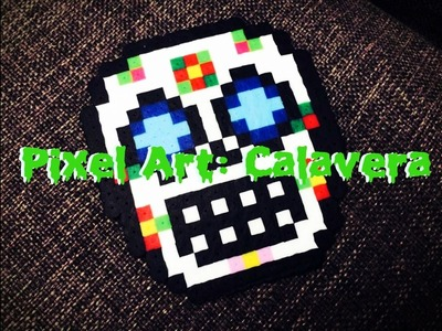 ✞ Manualidad Halloween ☠ : Pixel Art Calavera!!! || Twist Art