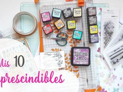 Mis 10 materiales imprescindibles en scrapbooking   Scrapeando con Rocío