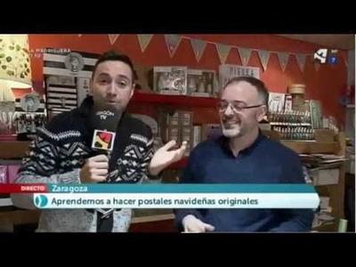 Scrapbook en Aragón TV