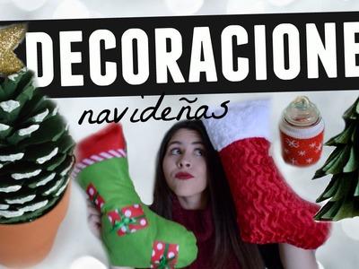Decora tu cuarto. casa para navidad (Manualidades navideñas) | Karen Rios