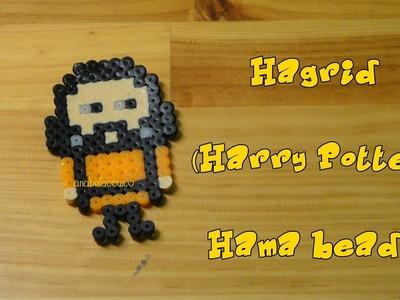 HAGRID(Harry Potter) de hama beads, pyssla, perler beads