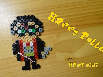 HARRY POTTER de hama beads.  pyssla. perler beads