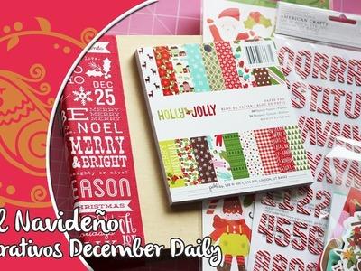 Haul navidad para el December Daily