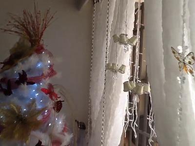Ideas de decoración para esta navidad. Decorando la ventana