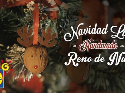Reno de Nuez - Handmade Navidad