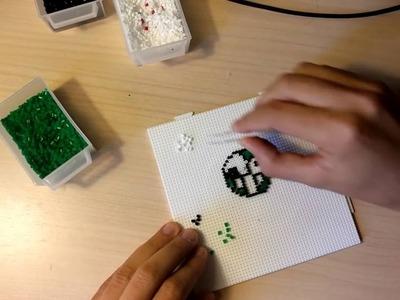 Roto2 en Hama Beads Mini. El nacimiento.