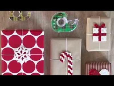 COMO ENVOLVER REGALOS ESTA NAVIDAD . CHRISTMAS GIFT WRAPPING +25 IDEAS