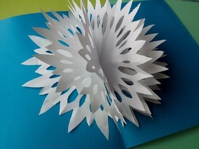 Cómo hacer 3D tarjetas de Navidad de Felicitación.       Como fazer cartões de Natal