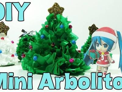 DIY- Mini arbolitos de navidad lindos!!! - Cute Mini Christmas trees!!!