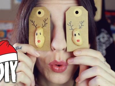Etiquetas navideñas para tus regalos · DIY de Navidad