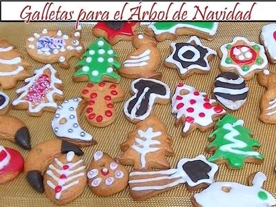 Galletas para el Árbol de Navidad | Receta de Cocina en Familia