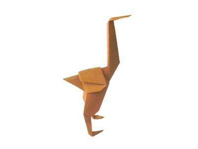 Avestruz Origami 3D